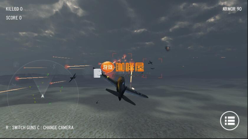 unity3d飞机大战《捍卫战士》游戏源码下载